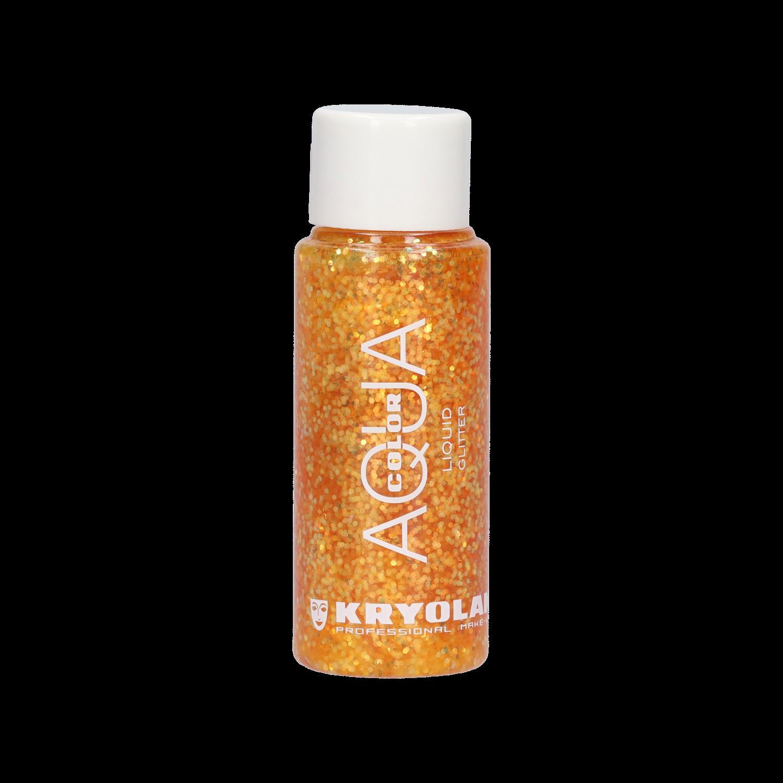 Aquacolor Liquid Glitter 30ml - Orange