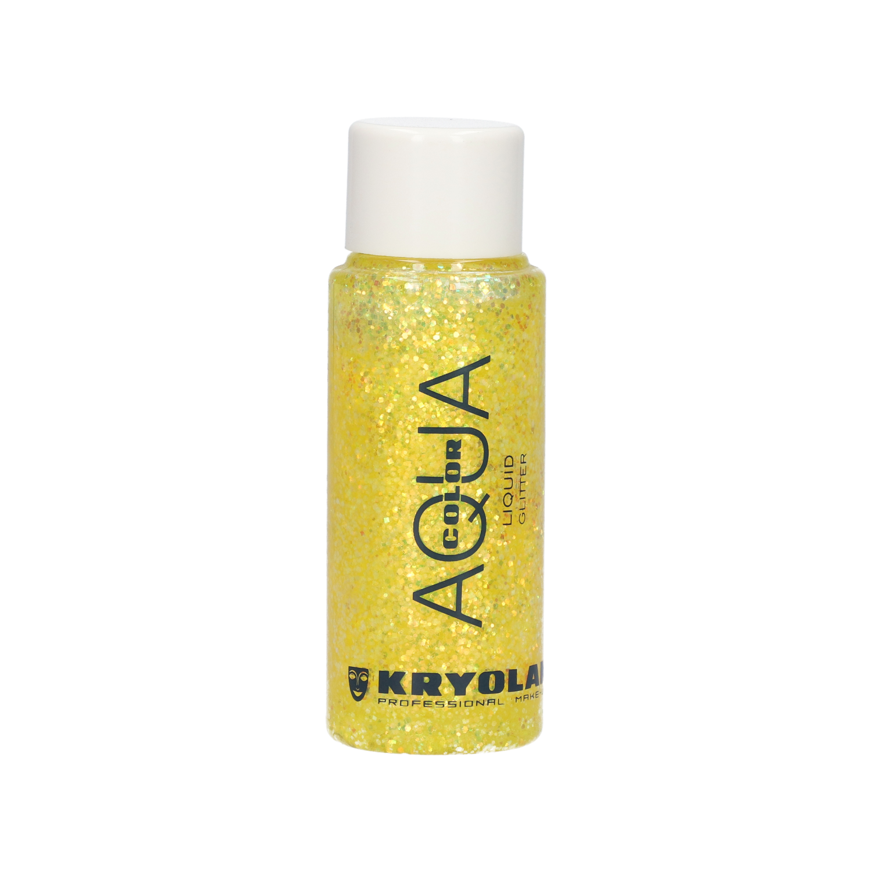 Aquacolor Liquid Glitter 30ml - Yellow