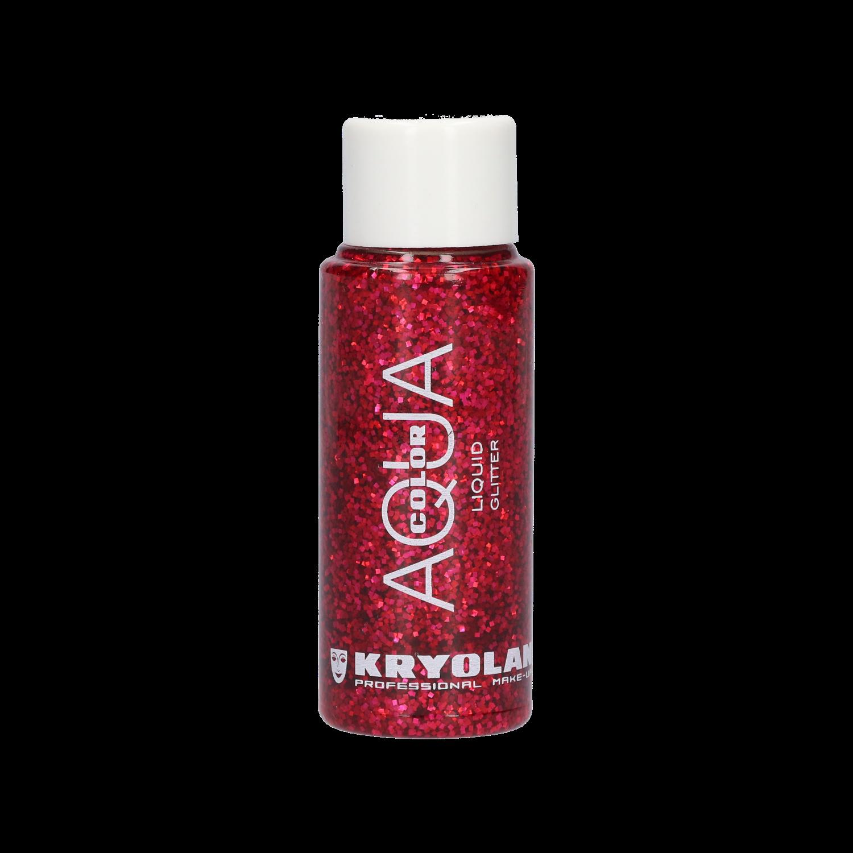 Aquacolor Liquid Glitter 30ml - Red