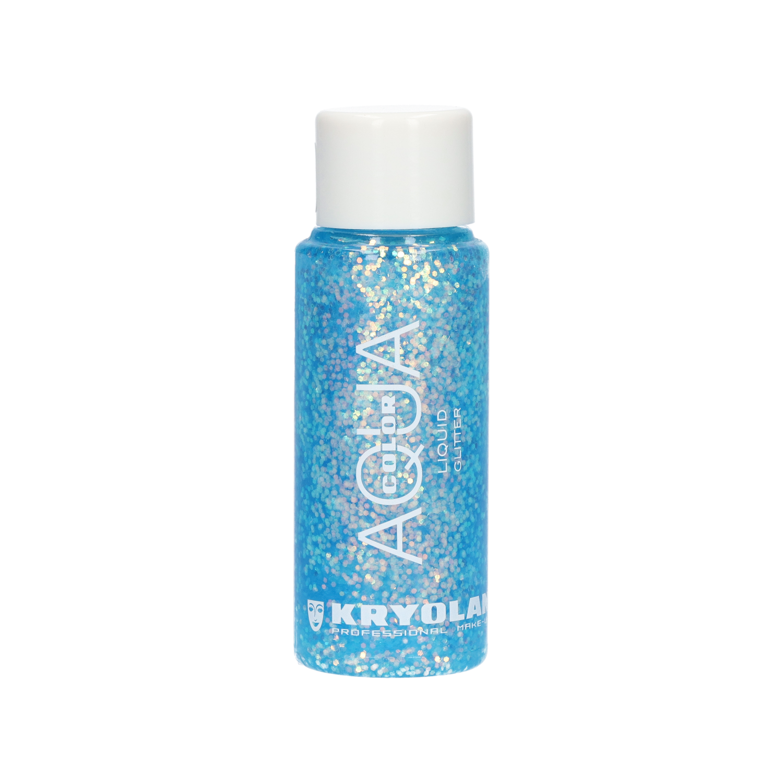 Aquacolor Liquid Glitter 30ml - Sea Blue