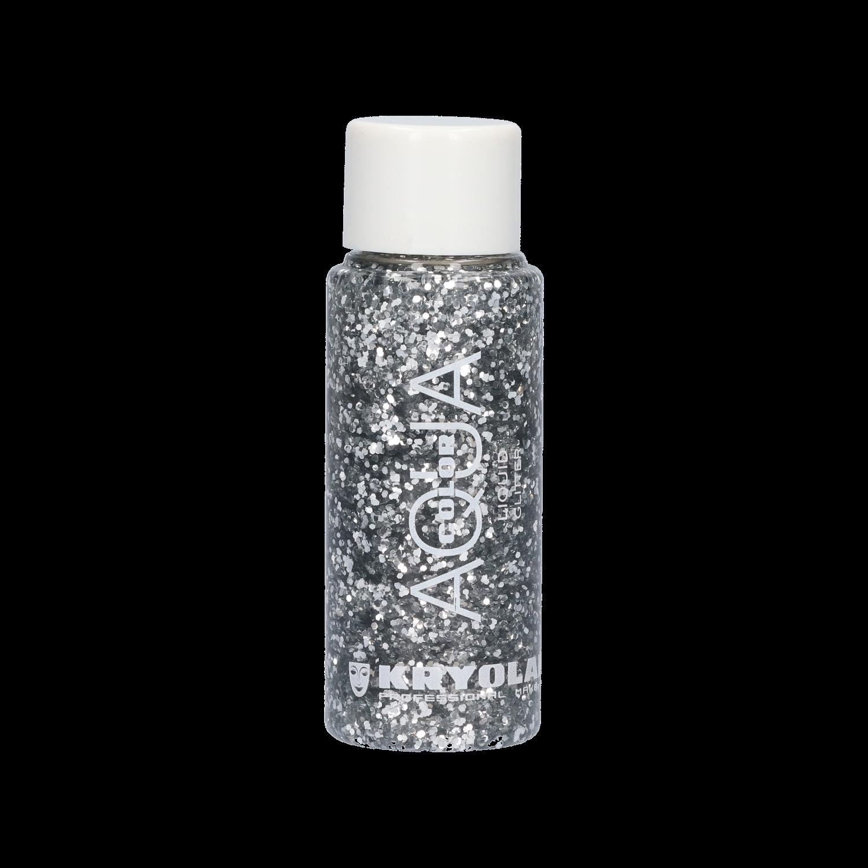 Aquacolor Liquid Glitter 30ml - Silver