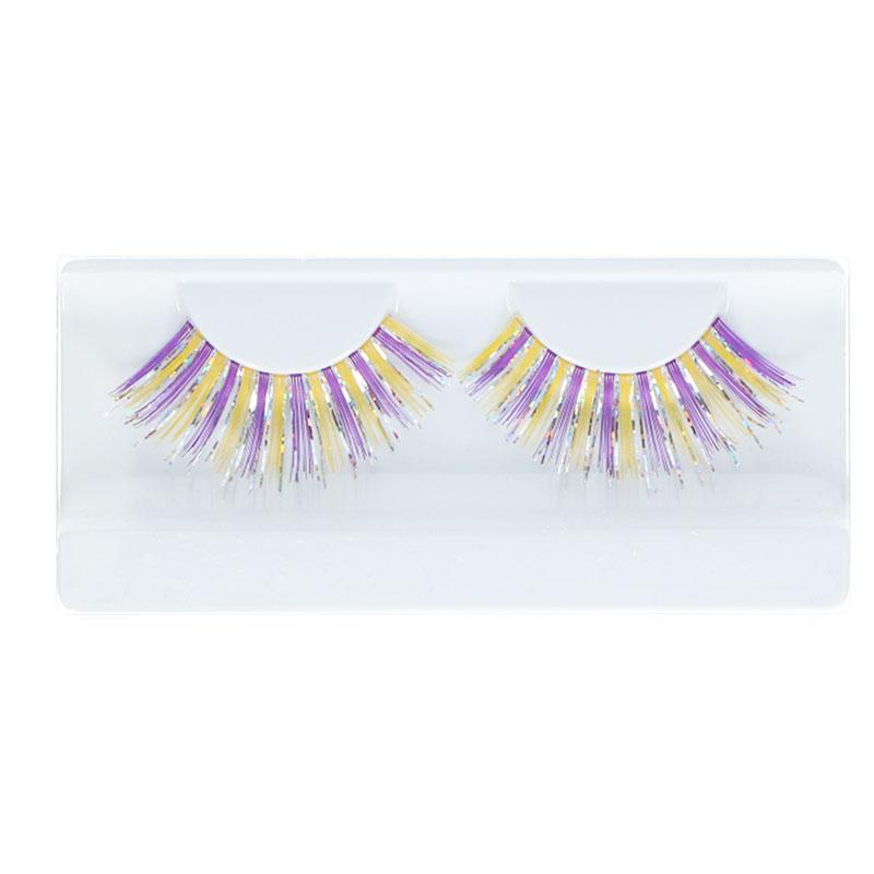 Lashes Glitter & Glamour Yellow & Purple