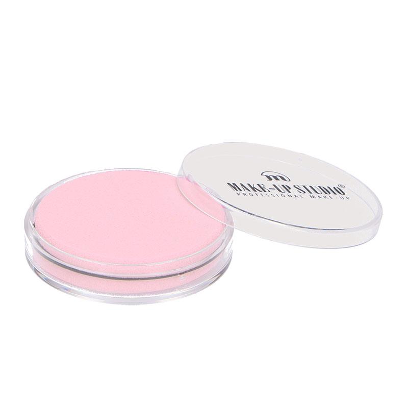 Round Buffed Spons - Licht roze