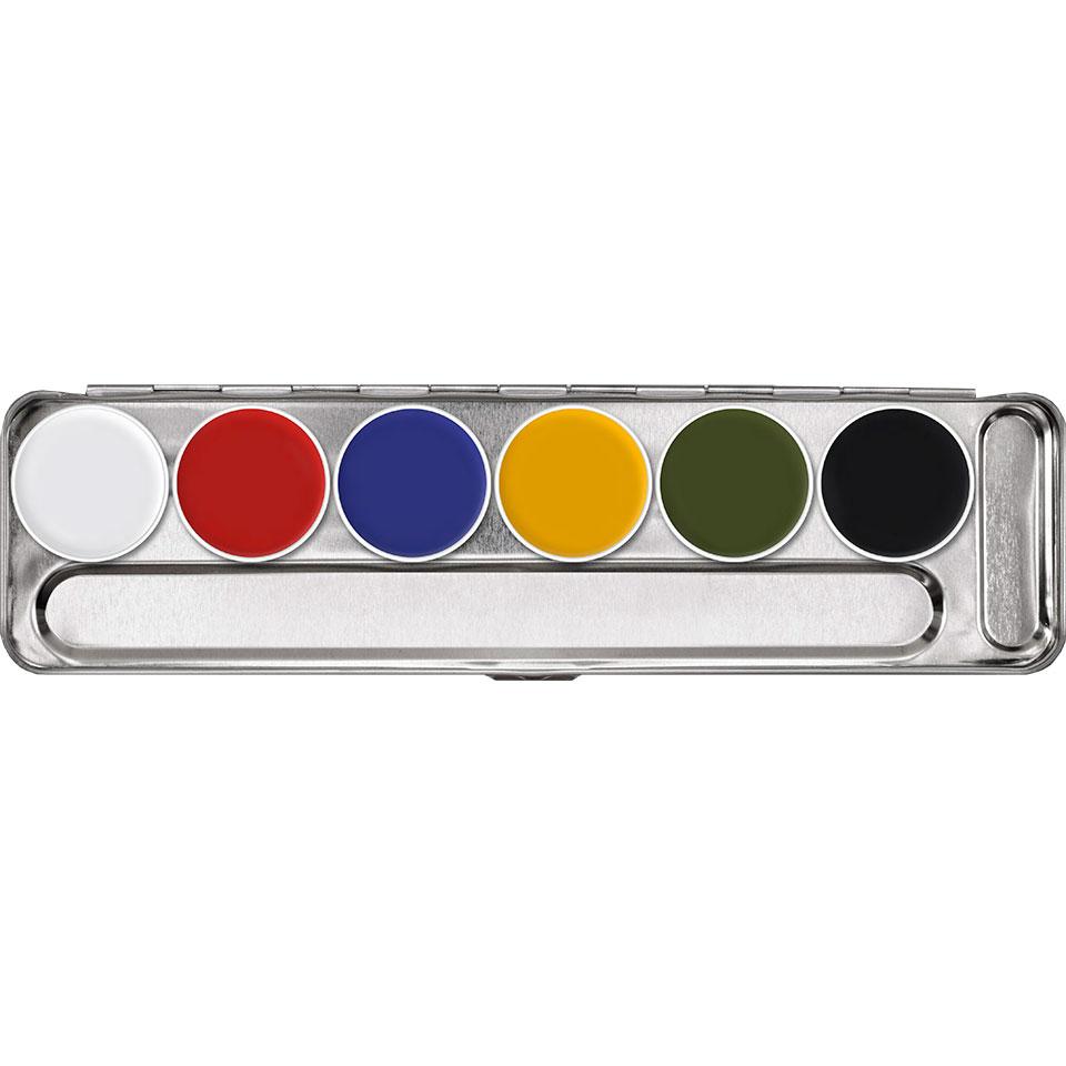 Supracolor Palette 6 kleuren - A
