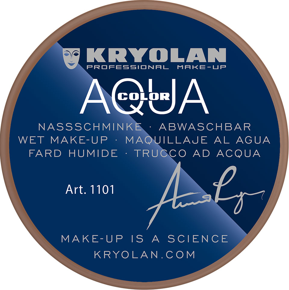 Kryolan Aquacolor Waterschmink - 9W
