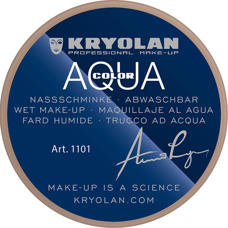 Kryolan Aquacolor Waterschmink - Alabaster