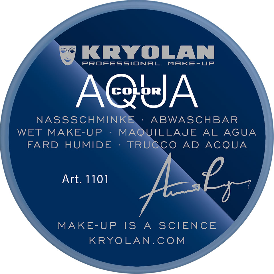 Kryolan Aquacolor Waterschmink - Blue 1