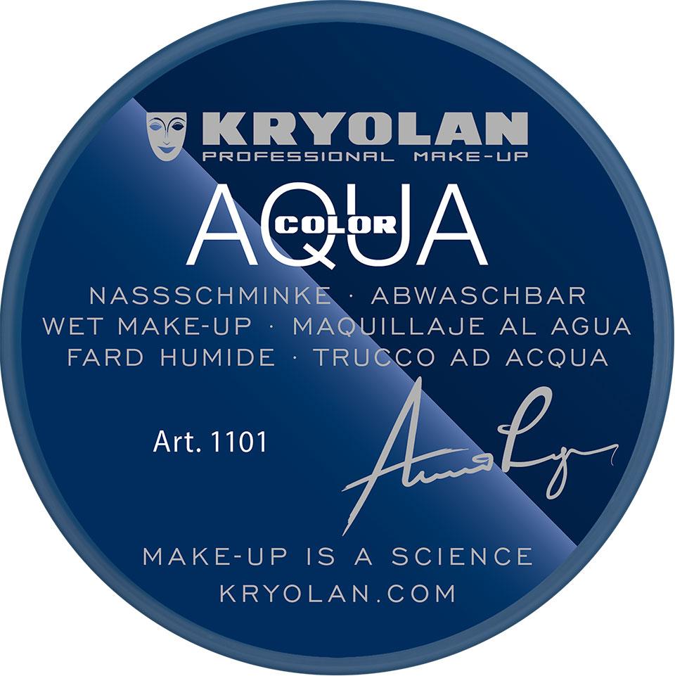 Kryolan Aquacolor Waterschmink - Blue 10