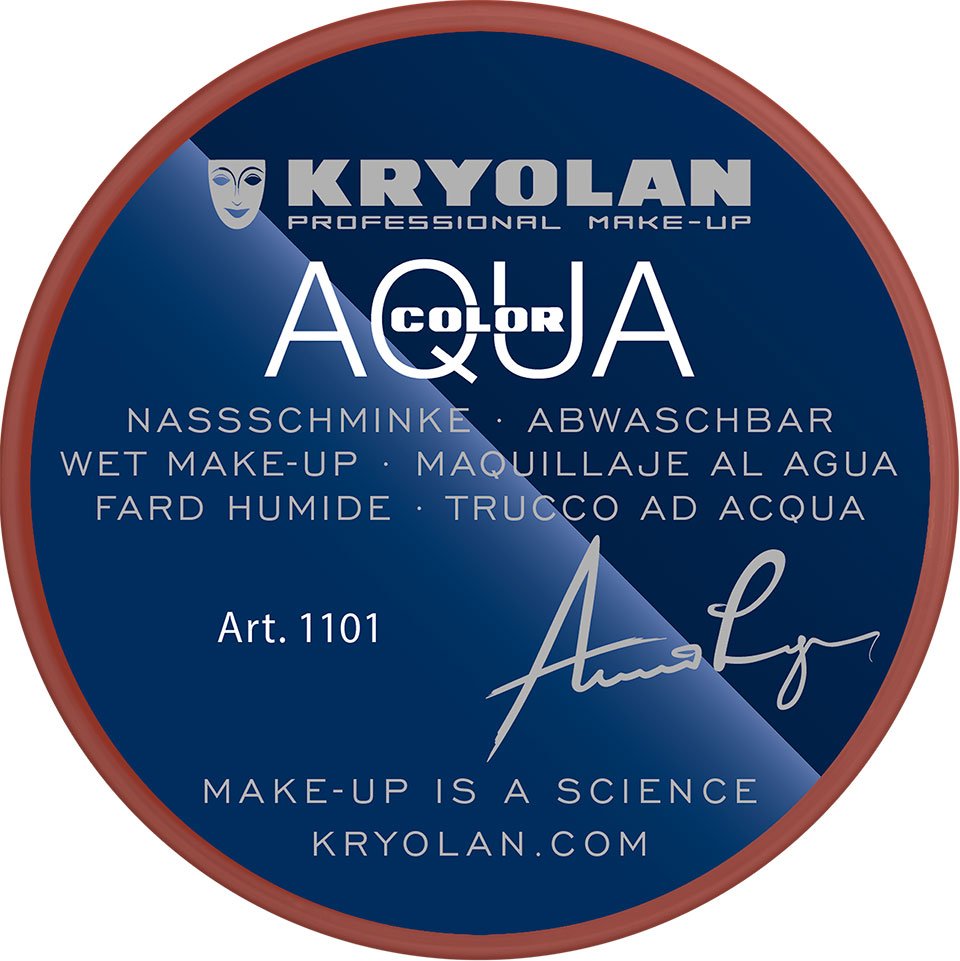 Kryolan Aquacolor Waterschmink - Shading red