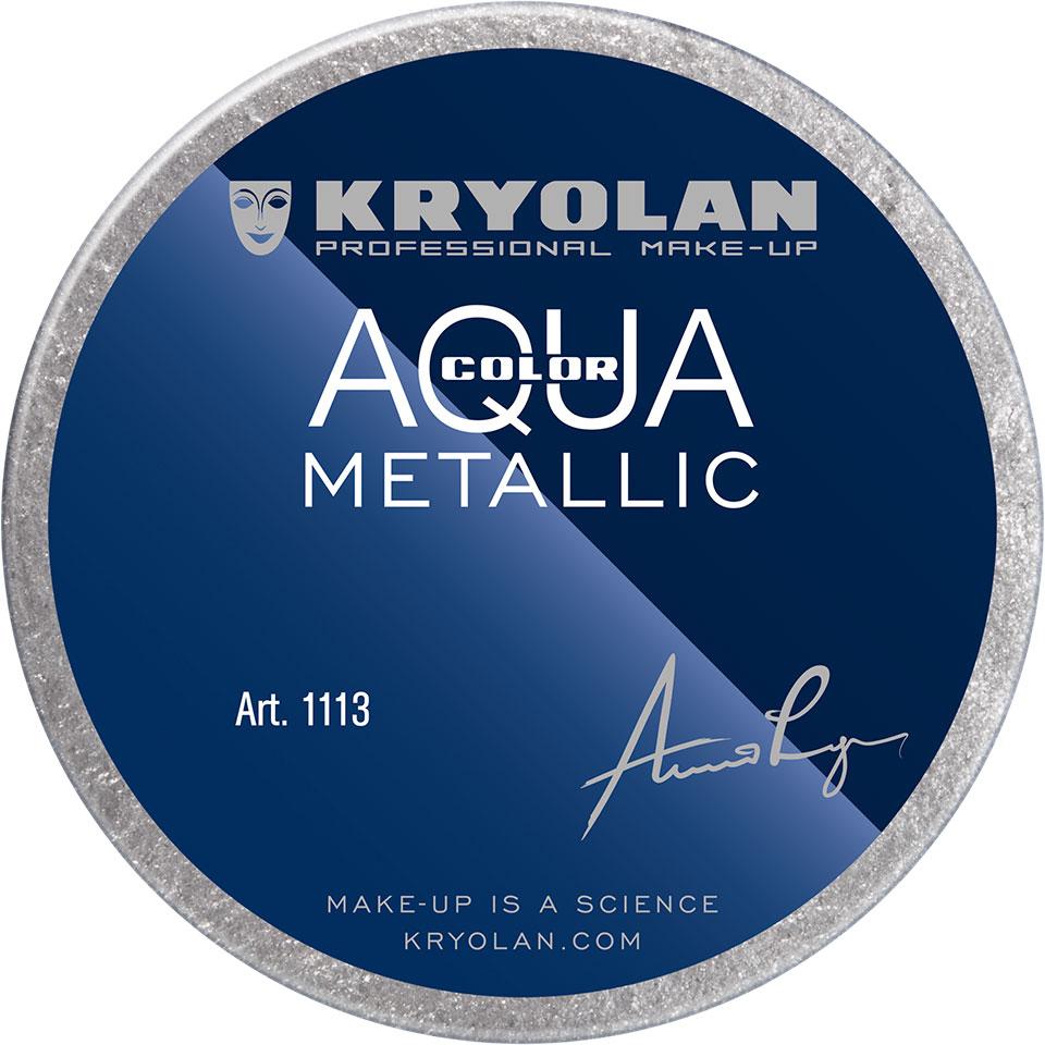 Aquacolor Metallic - Silver