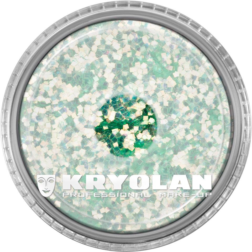 Polyester Glimmer - Pastel Green
