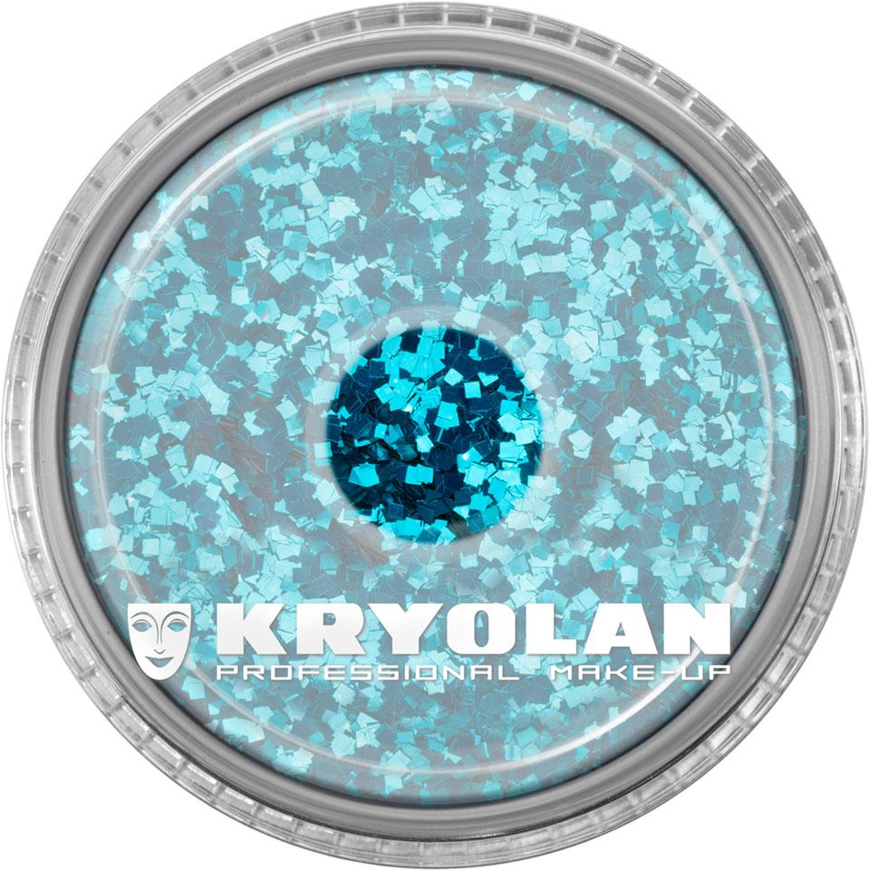Polyester Glimmer - Petrol