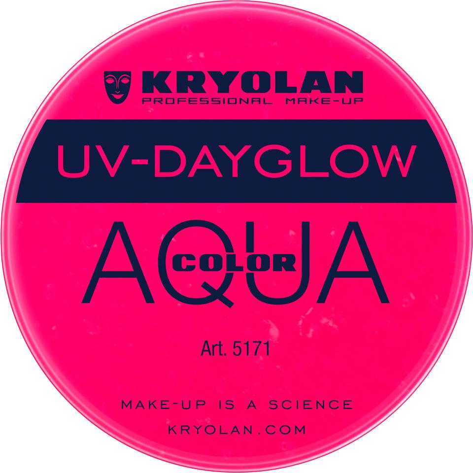 Kryolan Aquacolor UV-Dayglow Waterschmink - UV violet