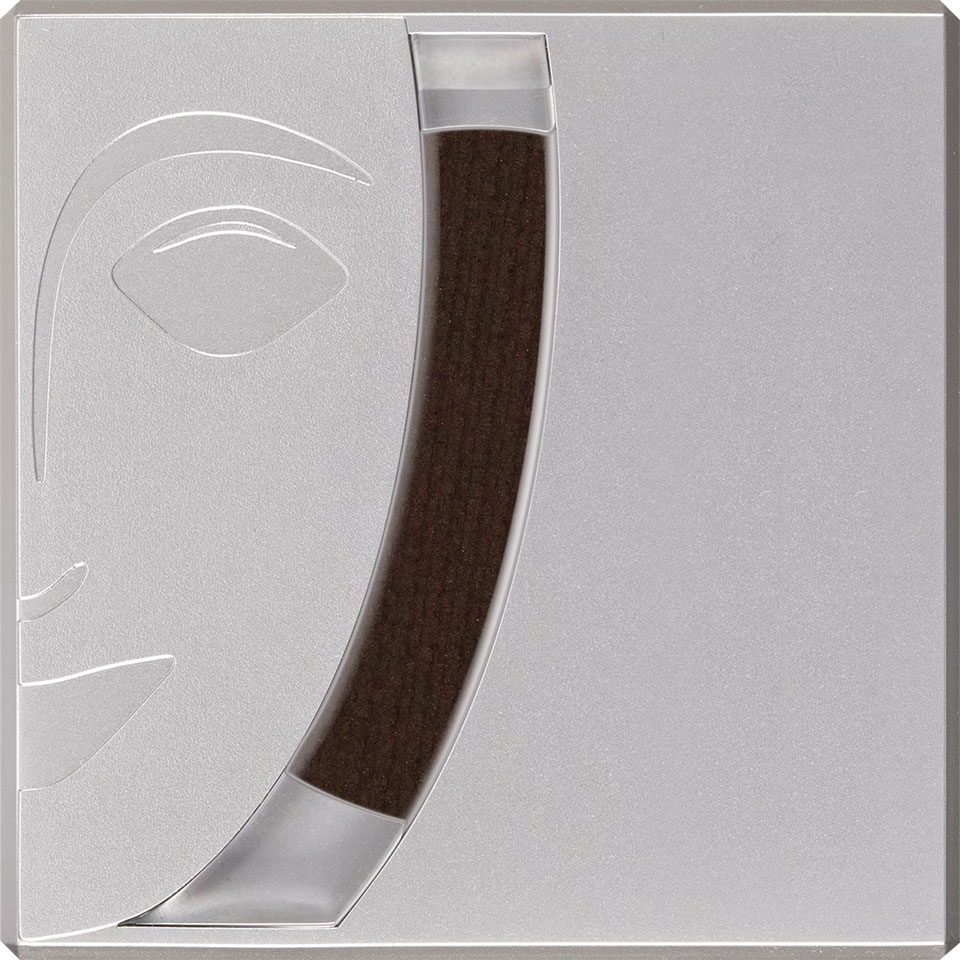 Cake eye liner - Black/Brown