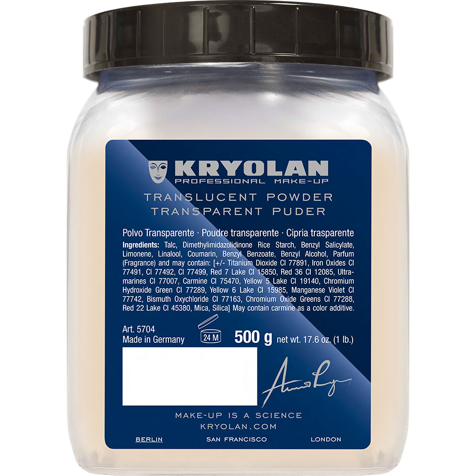 Kryolan Translucent Powder - TL 4